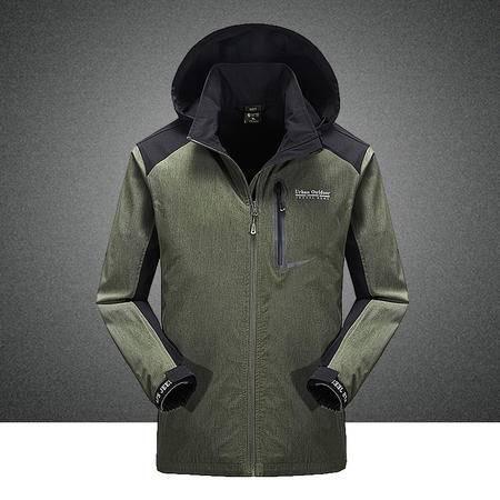 汤河之家2016春装新款 多口袋中长款 专柜正品夹克外套