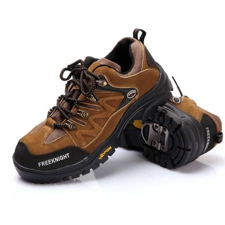 汤河之家户外新款男登山驴友户外鞋 耐磨橡胶 运动越野鞋登山鞋