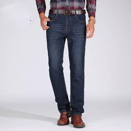 汤河之家商务休闲牛仔长裤青年大码长裤厚