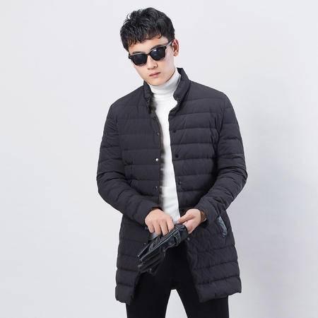 汤河之家2016冬季新款男土品牌轻薄羽绒服正品立领青年羽绒服90绒外套
