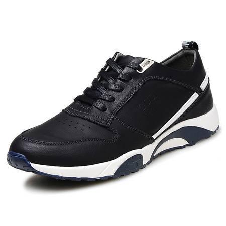 小童马 超纤 运动休闲透气跑步鞋 男士青年板鞋潮流男鞋 6501