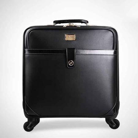 小童马 经典商务旅行箱 拉杆箱万向轮 PVC登机箱行李箱 LB-1816