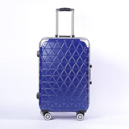 小童马 2016新款拉杆箱万向轮20寸密码登机箱24寸铝框旅行箱行李箱硬箱 98