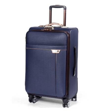 小童马 商务拉杆箱万向轮男女学生行李箱皮箱登机箱密码旅行箱包20寸24寸 A003-2