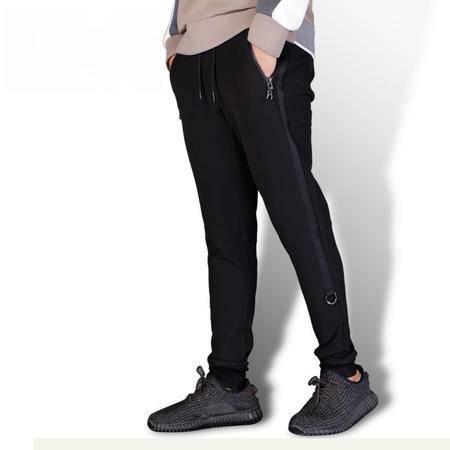 汤河之家 2016秋冬新款原创潮牌韩版休闲时尚青年长裤修身运动小脚裤男裤   K71005