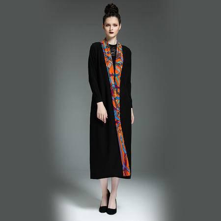 施悦名 2016秋装新款韩版无袖显瘦背心马夹春秋装西装外套中长款马甲女士