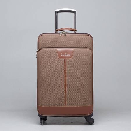 小童马 男女拉杆箱旅行箱行李箱子飞机轮密码箱22寸登机箱 5-17