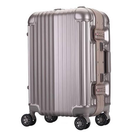 小童马 拉杆箱20登机箱子24万向轮男女密码行李箱潮旅行箱 6006