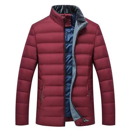 汤河之家 2016新款冬装男式羽绒服男男士中年轻薄男装外套 2-9-40-588