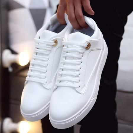 小童马 新款鞋子男鞋韩版高帮板鞋潮流学生时尚运动男士休闲鞋男 5853