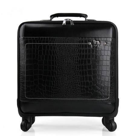 小童马 商务拉杆箱密码箱万向轮行李箱 16寸时尚旅行登机箱   LB-2016-A