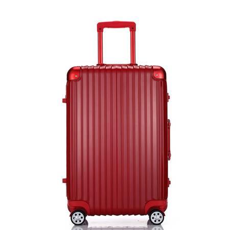 小童马 新款铝框拉杆箱 旅行箱学生登机箱 出国行李箱包 A-1818K