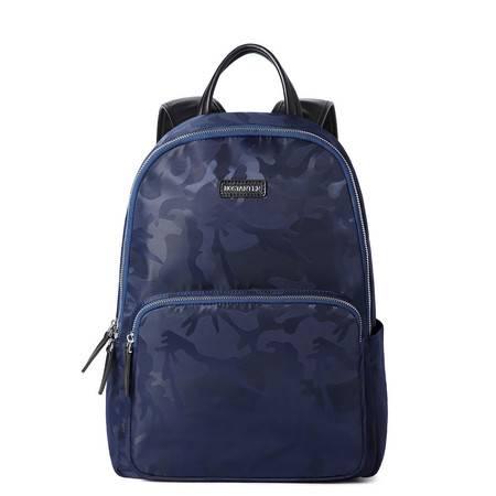 小童马 韩版休闲迷彩双肩包大容量旅行电脑防泼水背包 B6163091