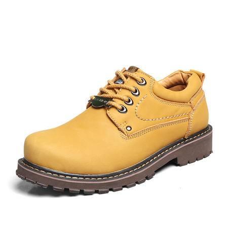 小童马 秋冬新款男鞋时尚头层皮休闲鞋防滑户外工装鞋时尚休闲运动鞋单鞋 BXT8875