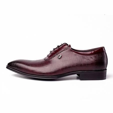 小童马 复古英伦风男鞋 高端商务正装皮鞋头层牛皮德比鞋发廊鞋 059-F2