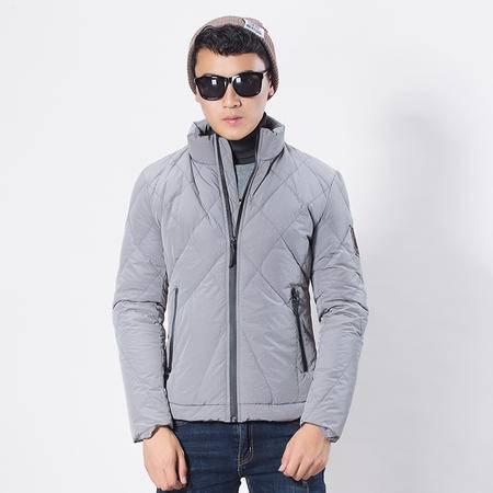 汤河之家 2016冬季新款轻薄羽绒服加厚男休闲青年品牌男士羽绒服   8728