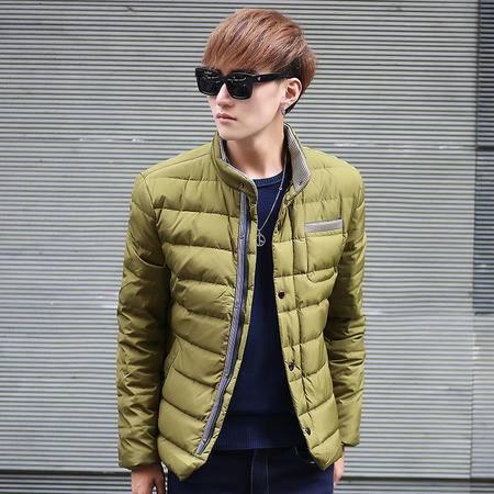 汤河之家 2016冬装青年韩版加厚短款男士棉衣潮流棉袄子男装冬季外套男棉服   RZ-M1238