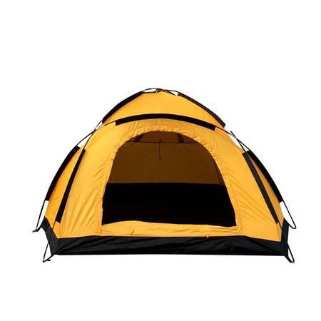 洋湖轩榭 单双人手动帐篷防雨 情侣户外用品家庭野营装备