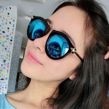 洋湖轩榭 周迅同款板材偏光太阳镜 复古猫眼墨镜彩膜偏光太阳镜