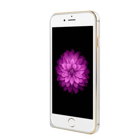 EXCO宜适酷铝合金边框保护套/保护壳/手机套/手机壳iPhone6Plus ZT305银/金/灰