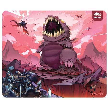 EXCO大号鼠标垫 超大鼠标垫 游戏鼠标垫 加大加厚鼠标垫MSP023熔岩兽