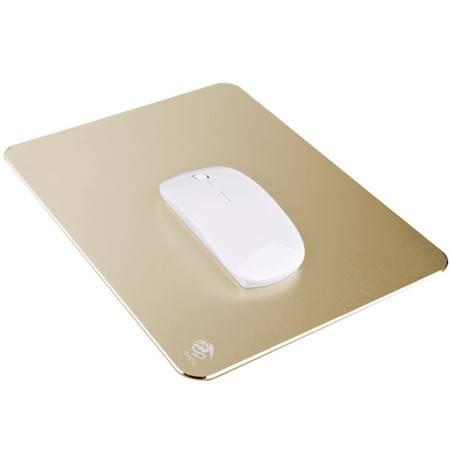 宜适酷铝制鼠标垫 金属鼠标垫 超大号游戏鼠标垫