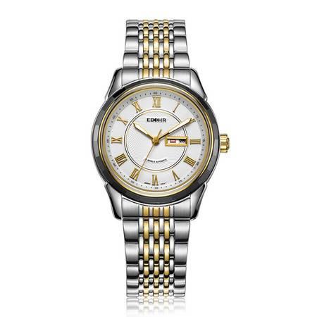 依波表(EBOHR) 自动机械表女士手表防水精钢时尚女表 10610428