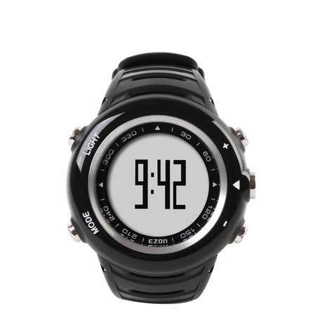 宜准(EZON)户外手表多功能手表心率表心率带女士时尚表计步器手表T013C15