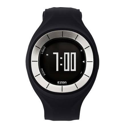 宜准(EZON)户外运动跑步手表计步手表女士时尚运动手表电子表T028B01