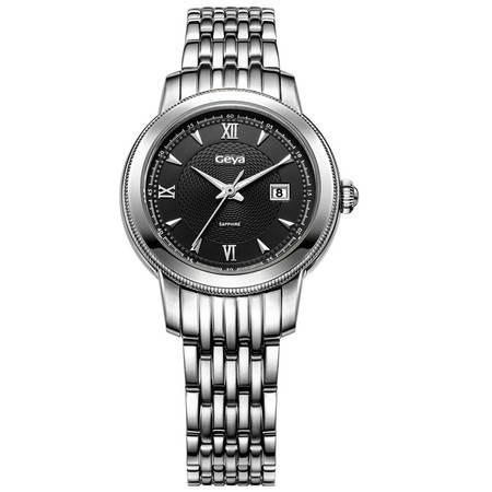 格雅(Geya)手表 全自动商务机械表女表商务女士手表G06800
