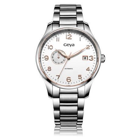 格雅(Geya)手表 全自动机械男士 商务手表男表腕表8150