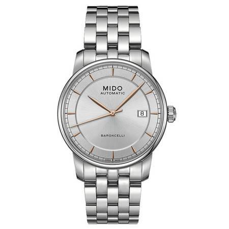 美度(MIDO) 贝伦赛丽系列男士手表 机械男表M8600.4.10.1