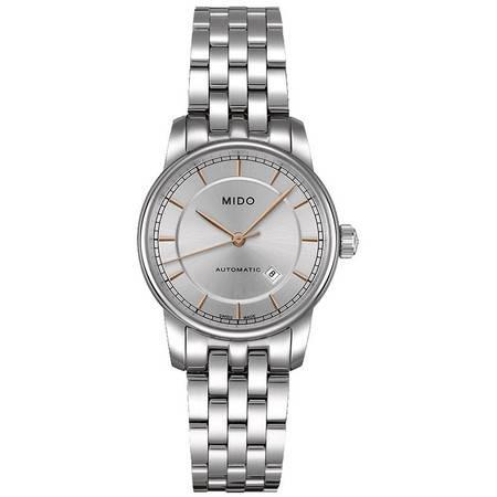 美度(MIDO) 贝伦赛丽II系列女士手表 机械女表M7600.4.10.1
