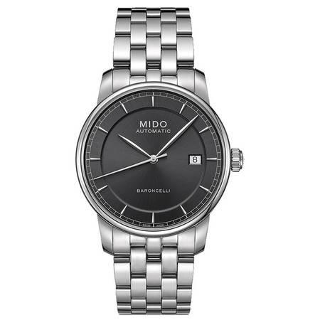 美度(MIDO) 贝伦赛丽II系列男士手表 机械男表M8600.4.13.1