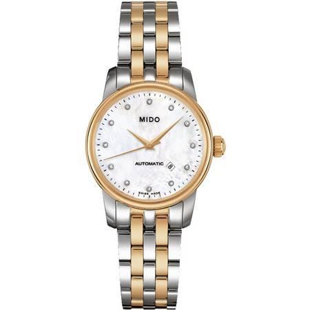 美度(MIDO) 贝伦赛丽系列女士手表 机械女表M7600.9.69.1