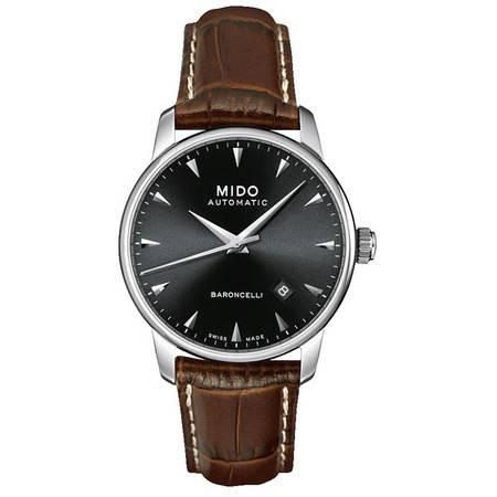美度(MIDO) 贝伦赛丽系列男士手表 机械男表M8600.4.18.8