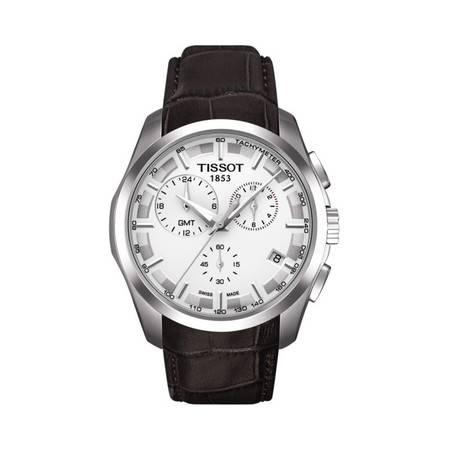 【分期0首付】天梭(Tissot) 库图系列石英男士瑞士表T035.439.16.031.00