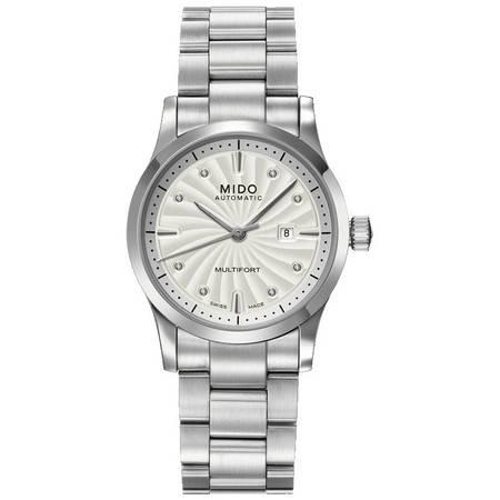 美度(MIDO) 舵手系列女士手表 机械女表M005.007.11.036.00