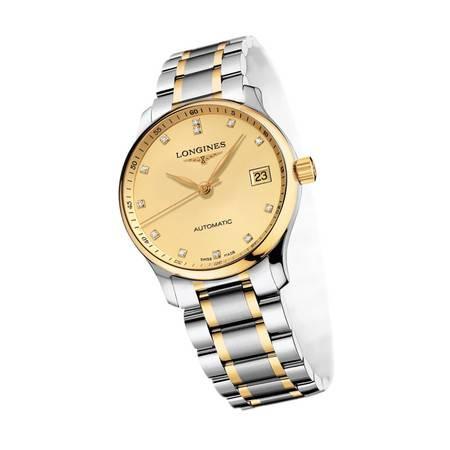 浪琴手表(Longines)名匠系列手表 机械男表L2.518.5.37.7