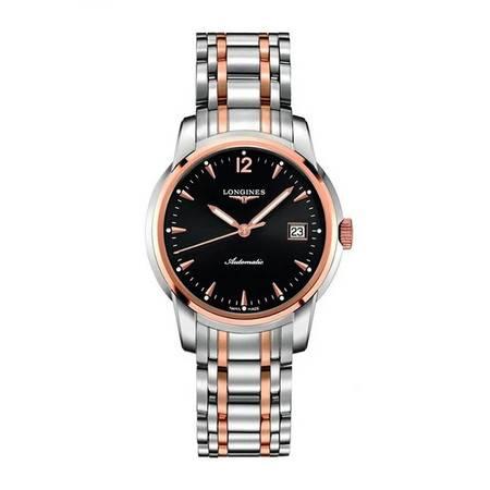 浪琴手表(Longines)索伊米亚系列手表 机械男表L2.763.5.52.7