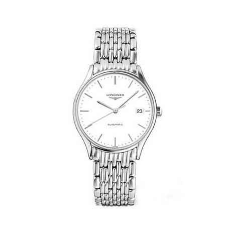 浪琴 手表(Longines)律雅系列手表 机械男表L4.860.4.12.6 [白色]