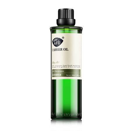 AFU阿芙 橄榄油100ml   润肤润唇 卸妆 身体按摩 基础精油