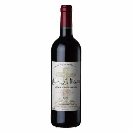 佳沃 联想佳沃法国酒十字堡红葡萄酒 750ml