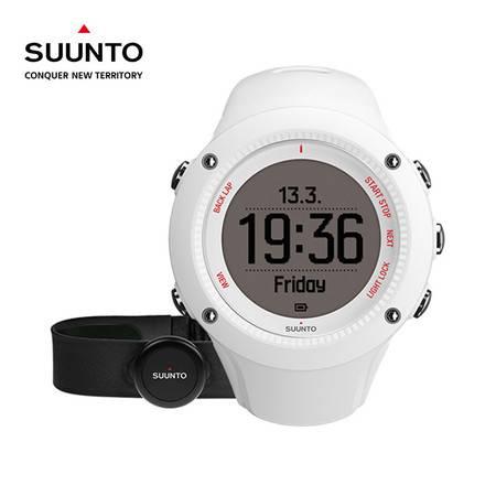 【分期零首付】SUUNTO颂拓  GPS运动智能手表心率手表蓝牙防水SS021257000