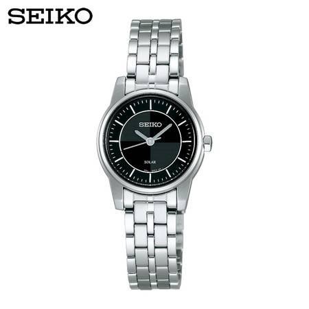 【分期零首付】SEIKO精工Spirit Pair太阳电能石英女表休闲手表STPR903J