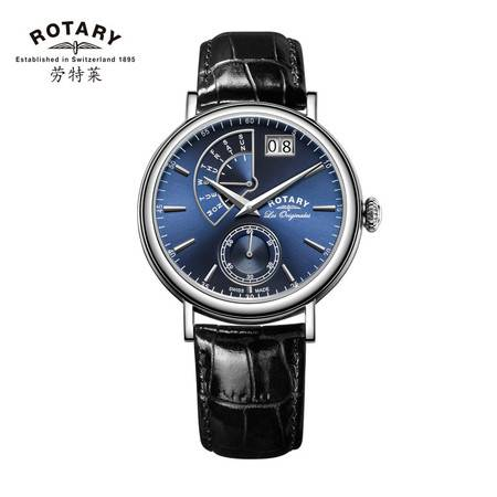 ROTARY劳特莱经典系列皮带石英男表GS90085-05