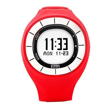 ezon宜准运动户外电子手表多功能跑步表男测距计步防水腕表T028B16