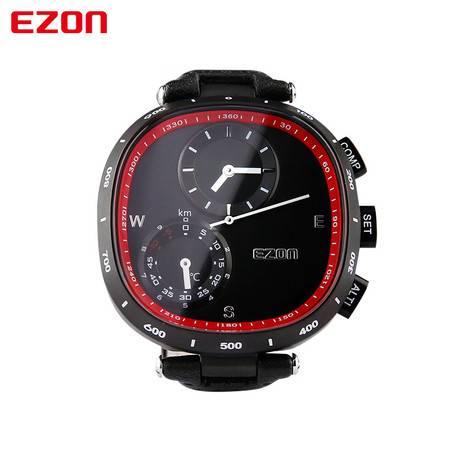 EZON宜准户外运动手表高度指南针防水表H601