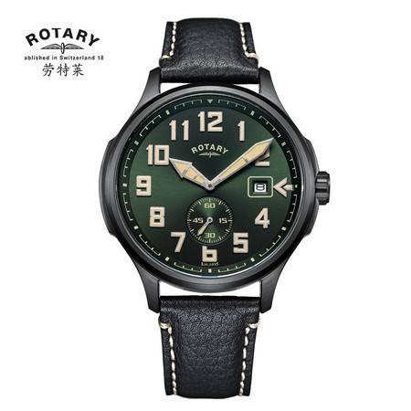 ROTARY劳特莱石英皮带男士军表GS80023-19