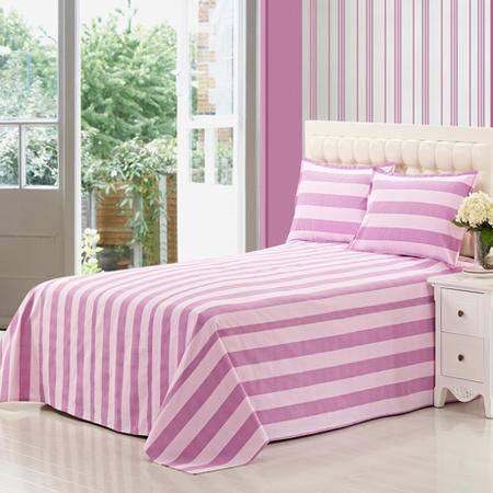 佳卉纯棉 老粗布床单 单人双人全棉 床单单件2.0米床2.0*2.3